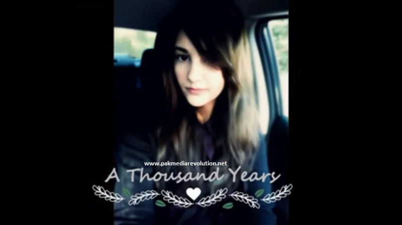 Maha Saleem - A Thousand Years (Cover - Christina Perri)