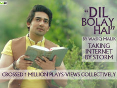 Dil bolay hai by wasiq malik taking internet by storm